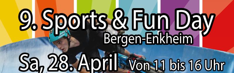 9. Sports & Fun Day am 28.04.2018